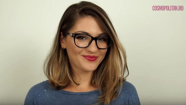 laura musuroaea machiaj fete cu ochelari